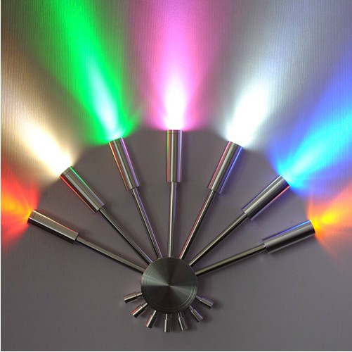 New Color LED Wall Lamp Red Blue Yellow Cool White Warm White - Cool wall lamps