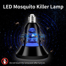 2PCS Electronic LED Mosquito Killer Lamp 220V Trap 2 in 1 E27 Bulb 8W 110V Insect Repellent Light USB Bug Zapper