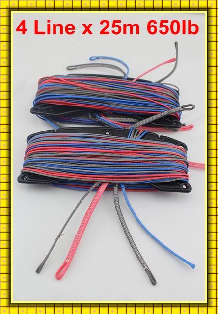 Free Freight Quad Lines 25m 650lb UHMWPE fiber kitesurfing line set manufacturer
