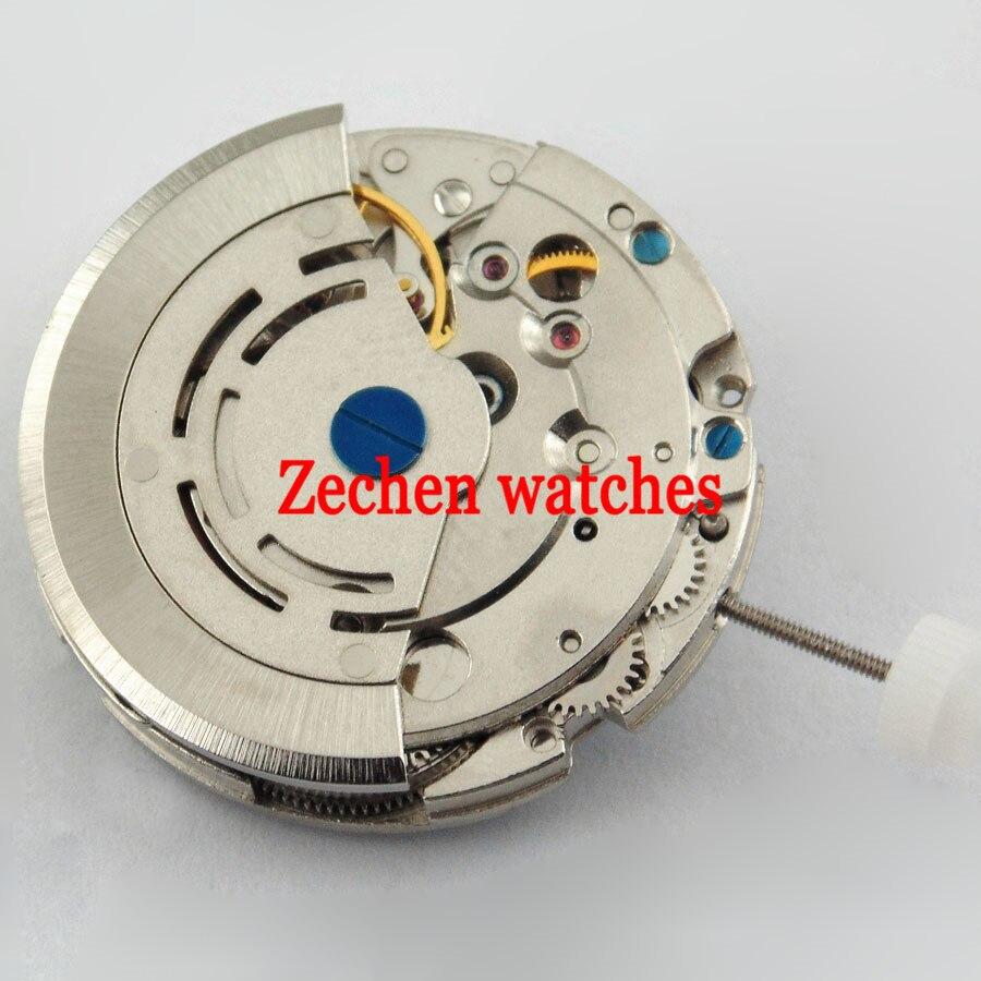лучшая цена Mingzhu DG2813 mechanical automatic movement fit parnis BLIGER mens watch