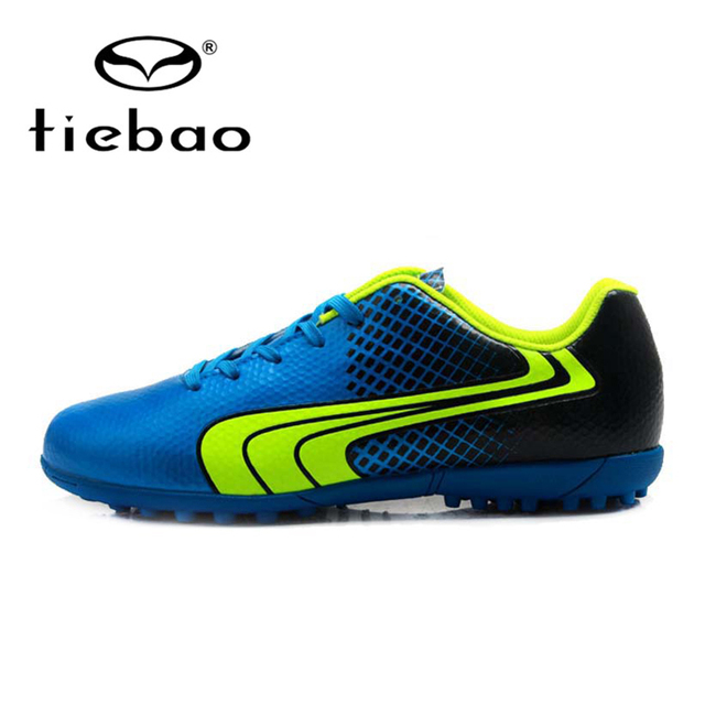 65a9b4fff31 TIEBAO Professional Indoor Soccer Shoes Men Women Rubber Soles Football  Boots TF Turf Athletic Training Shoes EU30-45