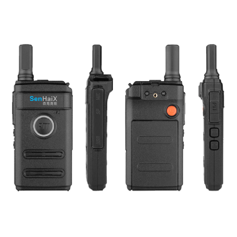 SenHaiX 1410 Walkie Talkie 5W UHF 16CH CTCSS DCS Handheld 2-Way Radio Earpiece