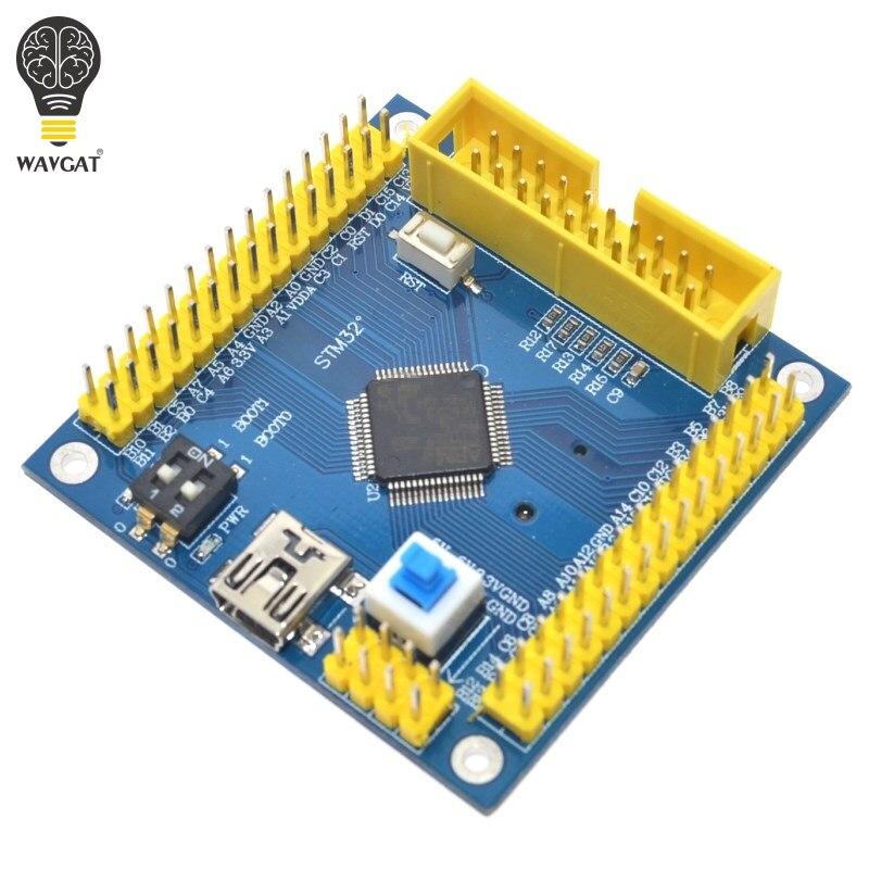 Stm32f103rct6 arm stm32 módulo mínimo da placa de desenvolvimento do sistema para wavgat placa de sistema mínimo stm32f103c8t6 versão de atualização