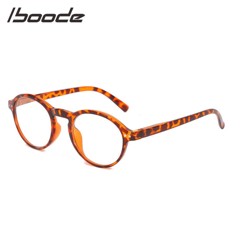 IBOODE Round Reading Glasses Women Men Presbyopic Eyeglasses Female Male Hyperopia Eyewear Optics Magnifier Diopter Spectacles