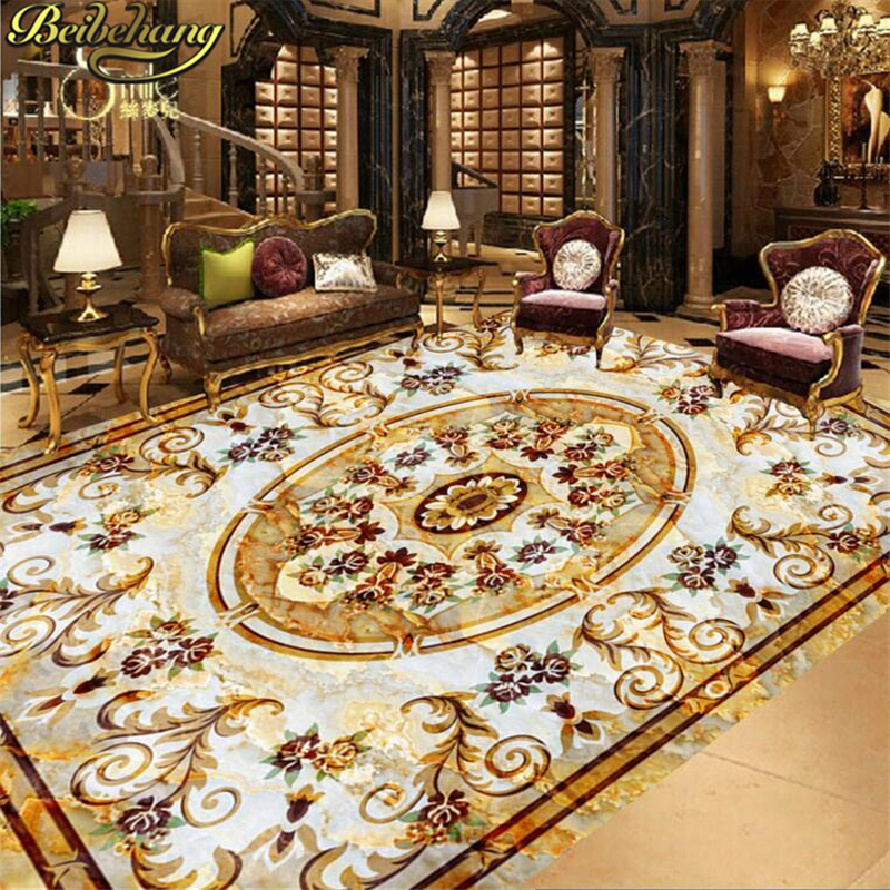beibehang Custom papel de parede 3D Mural Wall paper 3D Non-slip Waterproof Self-adhesive Vinyl Floor wallpaper for walls 3 d  beibehang summer beach floor floor murals wall stickers 3d wallpaper for living room pvc floor self adhesive papel de parede 3d