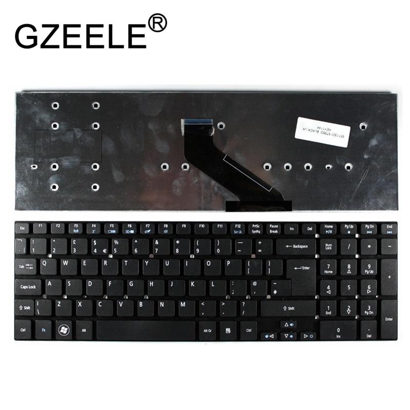 GZEELE New For Acer Aspire E15 E5-511 E5-511G E5-571 E5-571G E5-511P E5-521 E5-521G E5-531 E5-531G Series Laptop UK Keyboard