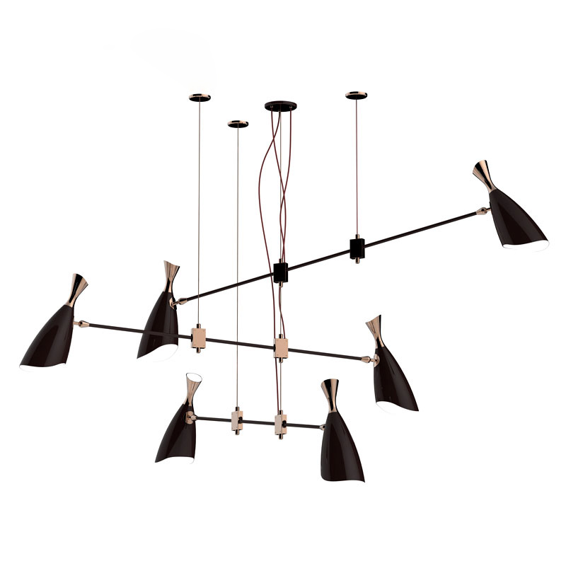 Chandelier Modern Ceiling Lamps Pendant Chandeliers Delightfull Hanging Lamp G9 E27 Nordic Designers Living Dining Room Fxiture