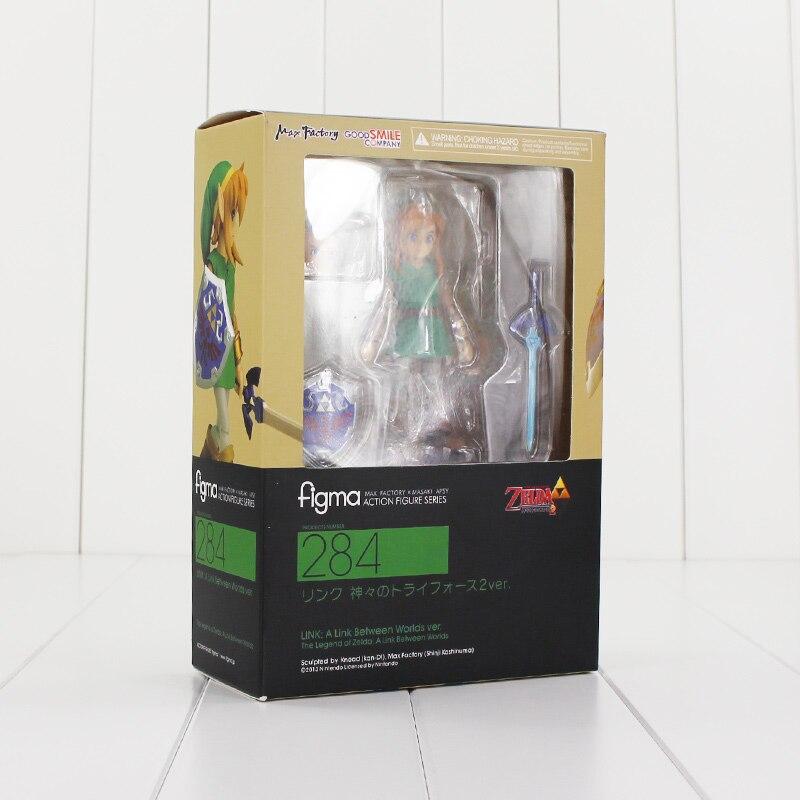 Hot The Legend of Zelda Figma 284 PVC Action Figure Toys Collection Model Doll jakob mändmets vana püss