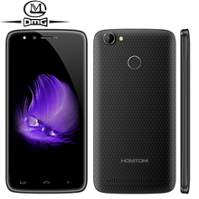 Homtom HT50 Smartphone 5.5″ HD Android 7.0 Mtk6737 Quad Core 3GB+32GB 13MP+13MP 5500mAh Battery Fingerprint 4G LTE Mobile Phone