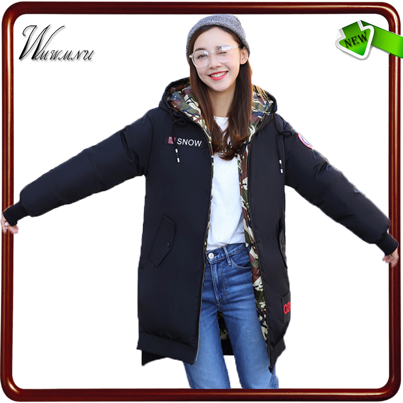 Wmwmnu 2017 new Fashion loose thick winter coats women hooded warm jacket casual Solid color parka femme plus size coats femal in stock eachine ev800d 5 8g 40ch diversity fpv goggles 5 inch 800 480 video headset hd dvr build in battery vs fatshark aomway