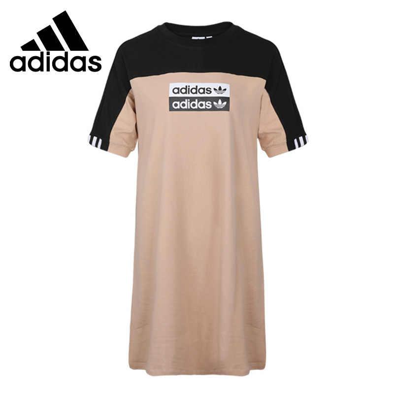 Grave Lamer carne  Novedad Original Adidas Originals camiseta vestido de mujer ropa  deportiva|Vestidos de tenis| - AliExpress