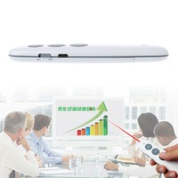 Wireless Presenter Rechargeable Wireless Laser Pointer RF 2 4GHz Powerpoint Clicker Presentation Remote Control Pen