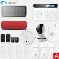 2018Etiger Gsm Home Burglar Security Alarm System Pir Motion Detector Ios&android App Control Sensor Fire Smoke