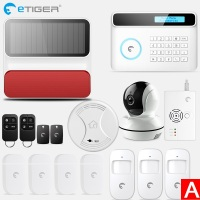 New Design Wireless Home GSM Security Alarm System DIY Kit APP Control With Auto Dial Motion Detector Sensor+IP Camera
