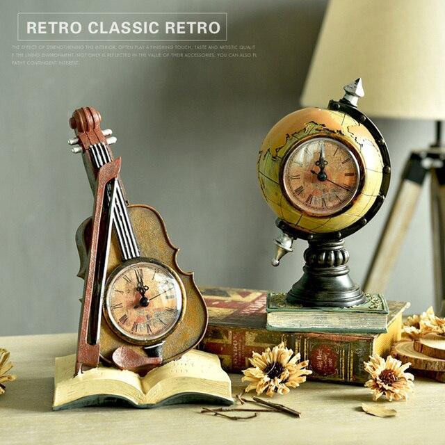 European Creative Retro Resin Decoration Old Furniture Mini Buildings  Crafts Big Ben Figurines U0026 Miniatures Gift
