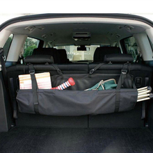 Car Rear Seat Back Tool Storage Bag Multi Hanging Nets Pocket Trunk Bag Organizer Auto Stowing Tidying Interior Accessories