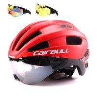 Bicycle Helmet EPS Aero Ultralight Road MTB Bike Windproof Lenses Integrally molded Helmet Cycling Casco Ciclismo cycling helmet