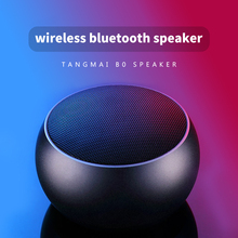 Portable Speaker Mini Wireless Bluetooth Speaker Subwoofer Computer Mobile Phone Outdoor Audio Speaker Bass Music Loudspeaker B0 цены онлайн