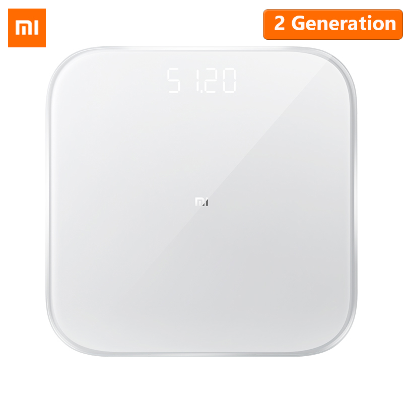Newest Original Xiaomi Mi Smart Weight Scale 2 Health Weight Scale Bluetooth 5 Digital Scale Support Android 4.3 iOS 9 Mifit APP(China)