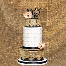 Baking DIY Wedding fondant cake lace mat silicone cake mould sugar mold