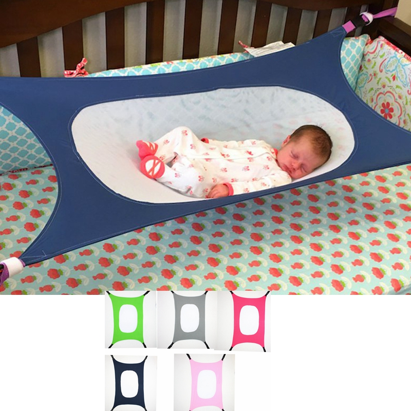 Washable Portable Folding Swing Baby Travel Bed Safety Shopping Cart Hammock For Newborn Infant Detachable Mini Cradle Carry Cot