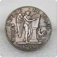França 1793-A (L'An II) República 6 Livres COIN COPY