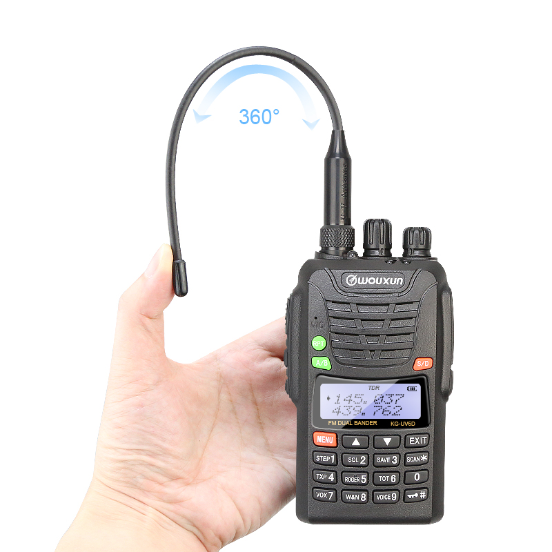 Nuovo Originale KG-UV6D Wouxun Dual Band VHF/UHF Professionale FM Two-way Radio WOUXUN KG UV6D Walkie Talkie 10 km
