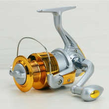 2017 New Rocker arm can be left and right swap 1000-7000 series fishing wheel 5.5:1 real 6BB Fishing reel rotating reel