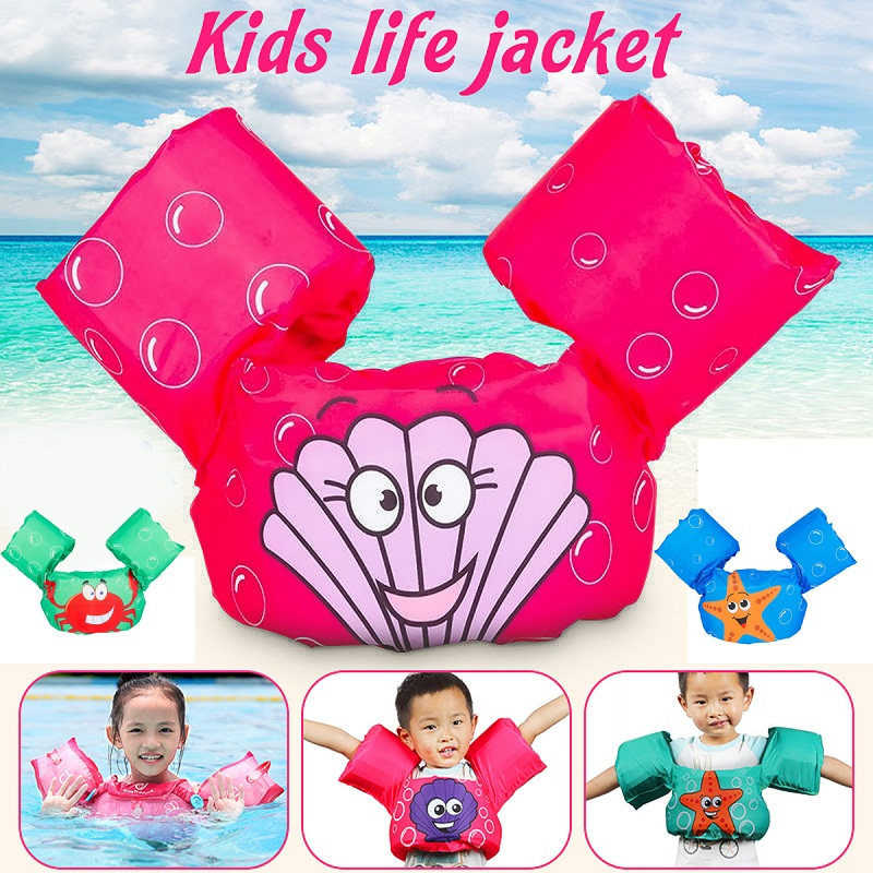 Wholesale Baby Inflatable Arm Floating Swimming Pool Accessories Children Sleeves Swim Ring Armlets Circle Tube Kids Trainer