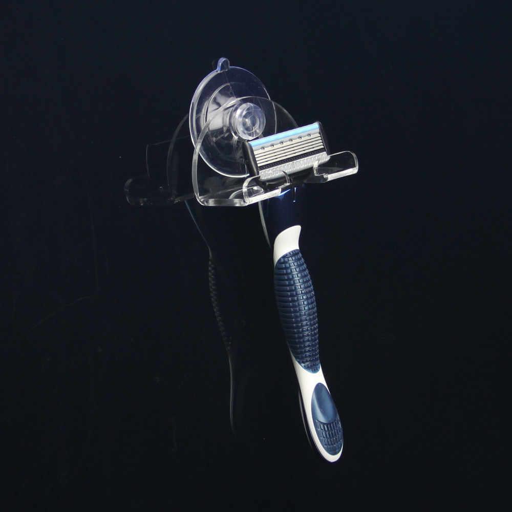 2019 Shaver uchwyt na szczoteczkę do zębów ubikacja ścianie Super hak z przyssawką maszynka do golenia łazienka regały magazynowe stojaki plastikowe ssania uchwyt