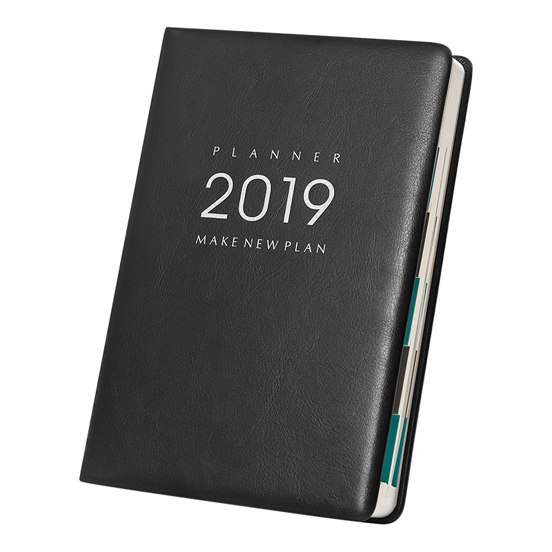 A5 2019 Planner Notebook Agenda 2019 Daily Monthly Yearly Planner Notebook Personal Diary Journal Agenda 2019 Organizer Planner maotu planner 2019 agenda notebook diary weekly planner monthly daily planner with color printings a5 a6