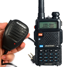 Handheld Microphone Add BAOFENG UV-5R  Walkie Talkie Two Way Radio