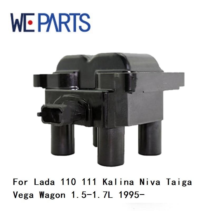 WEPARTS Voiture Bobine D'allumage 21113745010 Pour Lada 110 111 Kalina Niva Taiga Vega Wagon 1.5-1.7L 1995-9311600 auto pièces