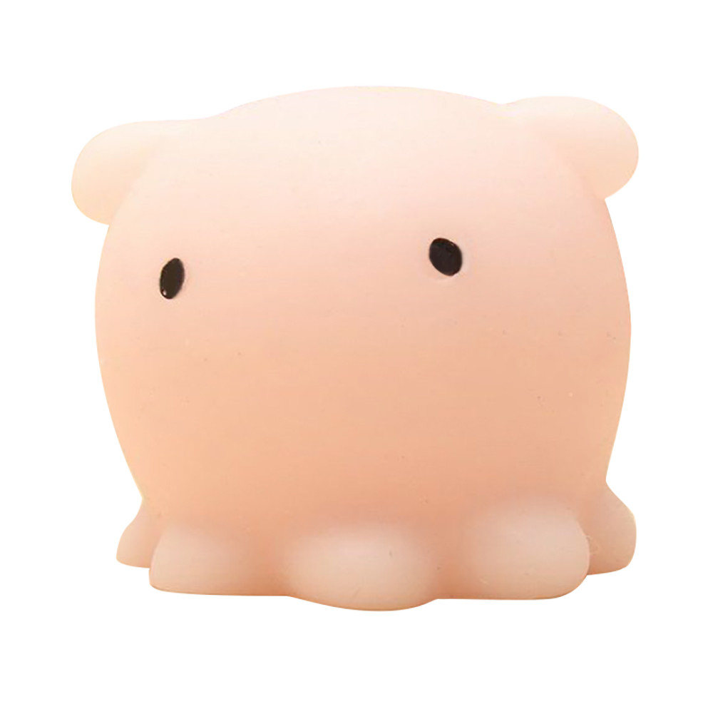 Squishy Cute Octopus Squeeze Vent small jellyfish Healing Fun Toy Gift Relieve Stress Decor animal Noverty Toys Anti Stress