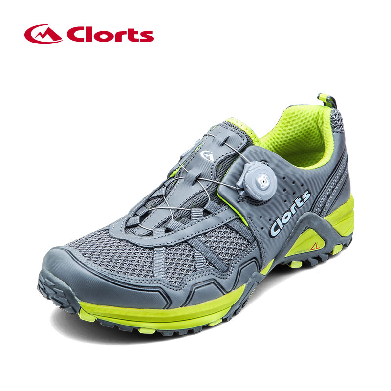 2018 Clorts Men Trail Running Shoes BOA Fast Lacing Breathable Light Weight Sport Shoe Mesh Upper For Men Free Shipping 3F013B/D kelme 2016 new children sport running shoes football boots synthetic leather broken nail kids skid wearable shoes breathable 49