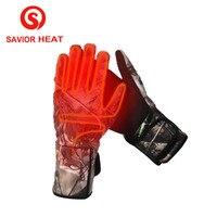 Спаситель heatwaterproof электрическое отопление Прихватки для мангала Утепленная одежда мягкие Прихватки для мангала Перезаряжаемые 7.4 В Батаре