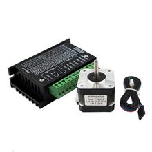 3 in 1 17HS3401 Motor TB6600 Stepper Motor Driver 100CM Wire for CNC Laser and 3D Printer(China)