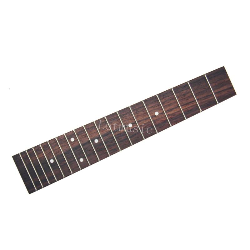 Fast Deliver Soprano Ukulele Neck Fingerboard Fretboard Rosewood For 21 Inch Uke Style Set Sports & Entertainment