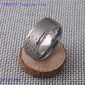 Titanium Color Two Tone Real Tungsten Carbide Wedding Band Men's Ring Bridal Jewelry Free Shipping