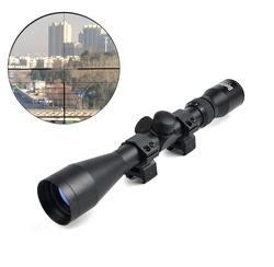 BUSHNELL 3-9X40 Tactical Riflescope Optic Sniper Deer Rifle Scope Hunting Scopes Airgun Rifle Outdoor Reticle Sight Scope