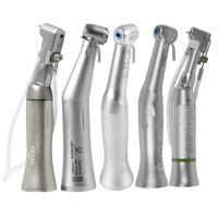 5 Types Dental 20:1 Reduction Implant Contra Angle Handpiece Low Speed