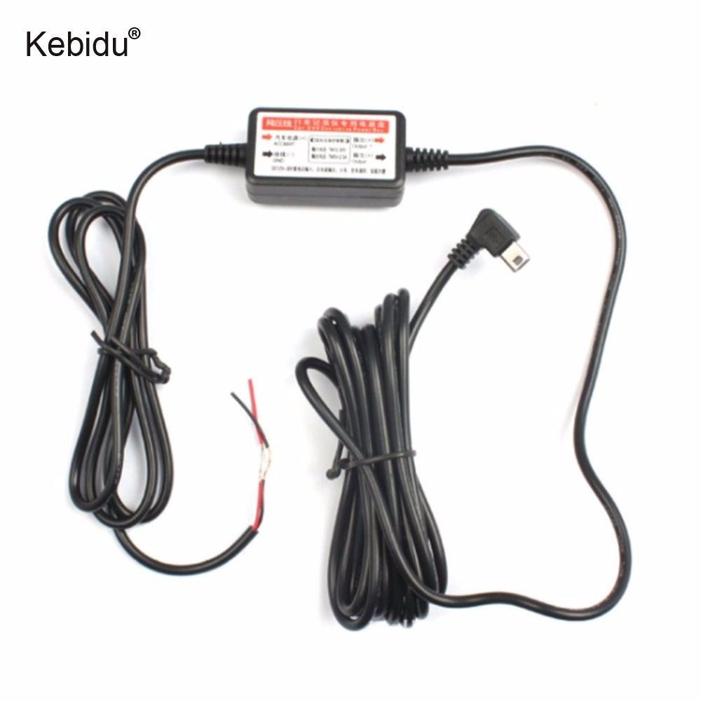 Kebidu USB Port Car DVR Exclusive Power Box for Camera