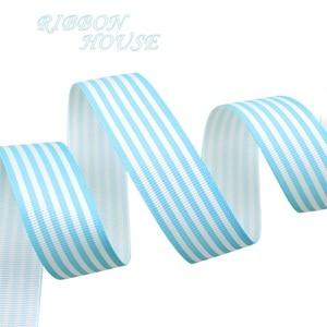 Image 5 - (10ヤード/ロット) 1 (25ミリメートル) 黒と白のストライプグログランリボン印刷ギフト包装装飾リボン