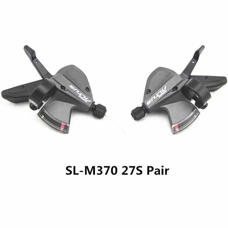 SHIMANO ALTUS SL-M370/RD-M370/FD-M370 9/27 скоростной горный велосипед передний переключатель трехсекционный Бесплатная доставка