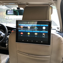 2pcs 11.8 inch In Car TV LCD Display Android Headrest DVD With Monitor For 2019 Toyota Land Cruiser 200 Rear Seat Entertainment