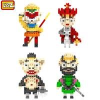 Chinese Culture Journey To The West Loz Blocks Building Blocks Plastic Toy Bricks Monkey King