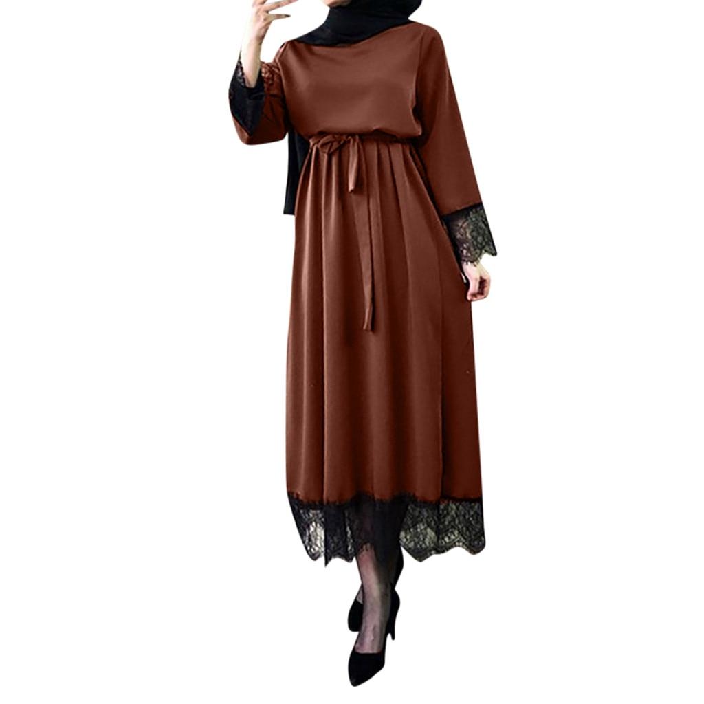54f45d92f 2019 Abaya Dubai musulmanes Vestidos Mujer Abaya Dubai Ramadán caftán  marroquí vestido musulmán turco ropa islámica para las mujeres