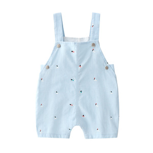 Image 4 - Algodão mãe do bebê roupas de verão 2 pçs macacão + calças crianças outwear do bebê festa conjuntos