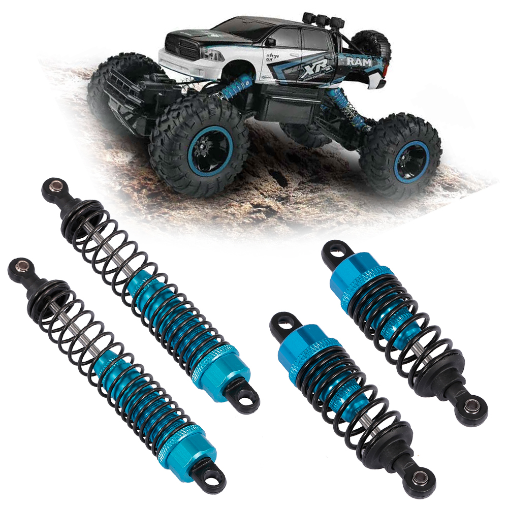 4PCS Alloy 120mm Adjustable Shock Absorber for 1//10 RC TRX4 AXIAL Wraith SCX10