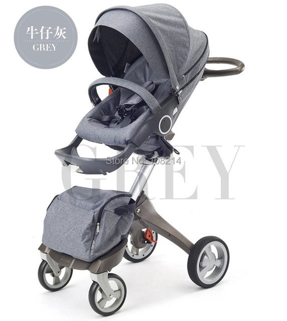 Trustworthy Seller Good Baby Strollers Adjustable Handle Bar Stroller With Baby Bassinet,Rain Cover/Mosquito Net Included